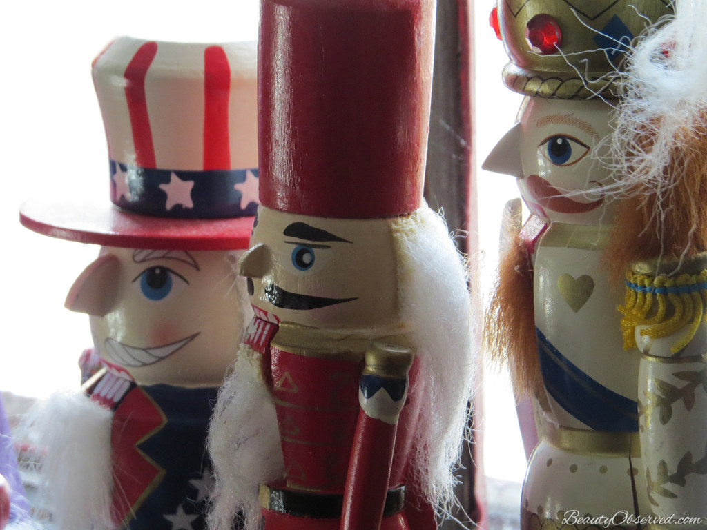 Visit BeautyObserved.com for a little bit of respite in this busy world. Beautiful photography and inspirational memes. #nutcrackers