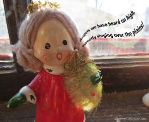 Visit BeautyObserved.com for more memes. #vintageangel Angels we have heard on high, sweetly singing over the plains.