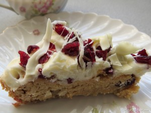 Cranberry Bliss-fully Happy Bars