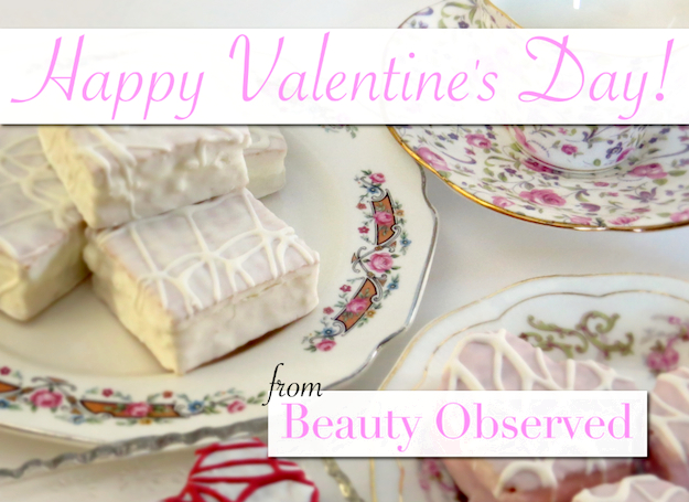 Happy Valentine's Day from Beauty Observed