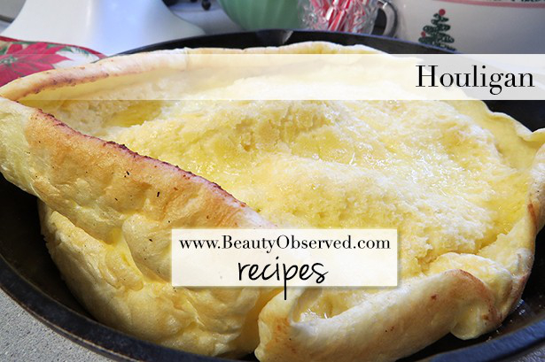 Houligan recipe from www.beautyobserved.com Free downloadable recipe.  Makes a great holiday breakfast!