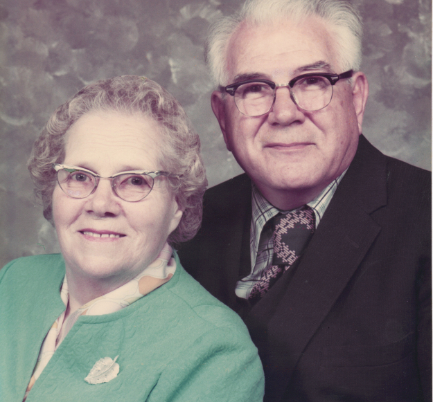 Grandma and Grandpa Lassond