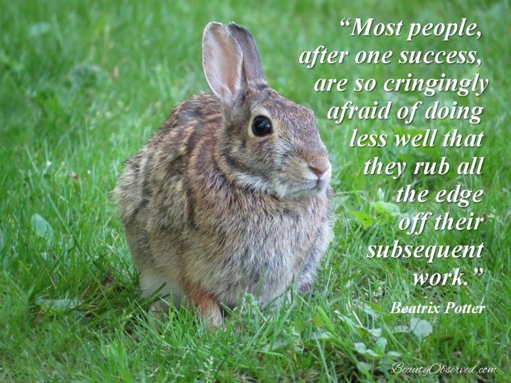 Beatrix Potter success quote
