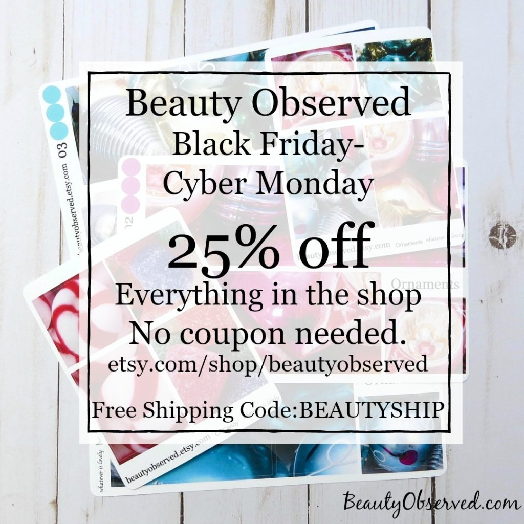 Black Friday Ad for Beauty Observed